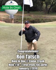 Ron Tatsch Hole In One