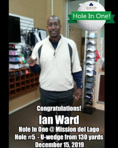 Ian Ward Hole In One