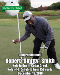 Robert Smitty Smith Hole In One
