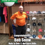 Bob Snow Hole In One