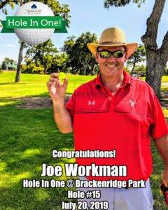 Joe Workman Hole In One