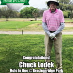 Chuck Lodek Hole In One