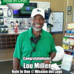 Lou Miller Hole In One