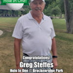 Greg Steffes Hole In One