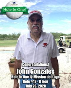 John Gonzales Hole In One