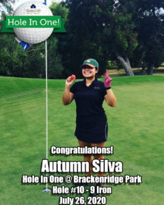 Autumn Silva Hole In One