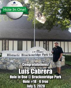 Luis Cabrera - Hole In One