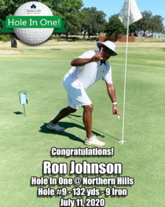 Ron Johnson Hole In One